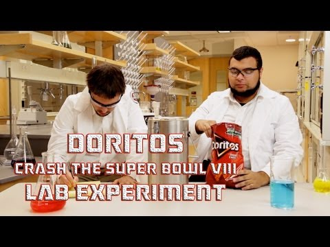 Doritos Crash the Super Bowl VIII: Lab Experiment