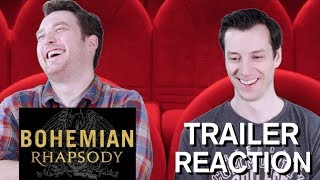 Bohemian Rhapsody - Trailer Reaction