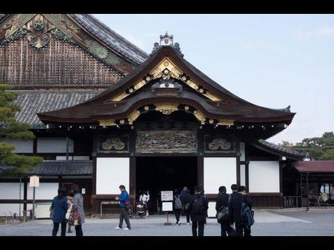 Tokugawa Ieyasu's Residence: Nijo Castle (二条城) in Kyoto!