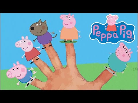 Thumbnail: Peppa Pig Finger Family Song Nursery Rhymes for Children and Kids