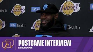 Lakers Postgame: LeBron James (01/18/21)