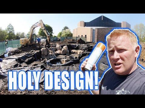 Recreation POND DESIGN & Build: Christ Community Church - Part 1