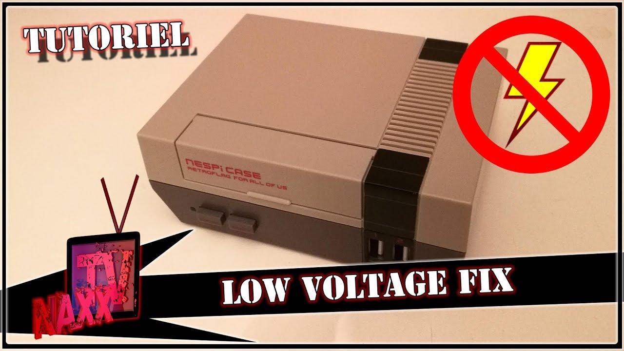 Tuto Nespicase Low Voltage Fix Tuto Youtube