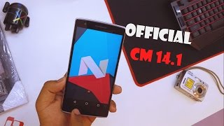 Official CM 14.1 For The OnePlus One (Android 7.1) - New Features?