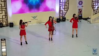 Video Korean girl group playing kpop songs - modern instrumental style download MP3, 3GP, MP4, WEBM, AVI, FLV November 2017