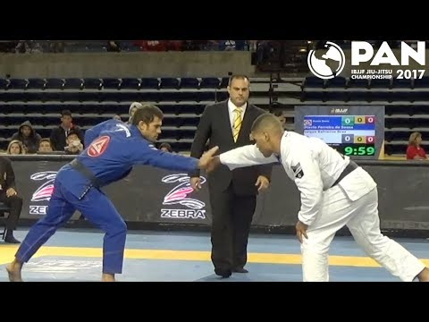 Otavio Sousa vs Isaque Bahiense / Pan Championship 2017