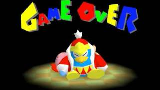 Game Over: Kirby 64 - The Crystal Shards