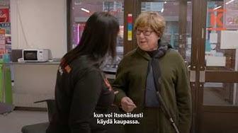 K-Market Kallio huomioi näkövammaiset asiakkaansa erityisellä tavalla