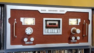 """Awesome Mix Vol. 2"" on Replica Cassette Deck"