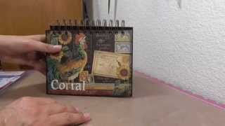 French Country Recipe Easel
