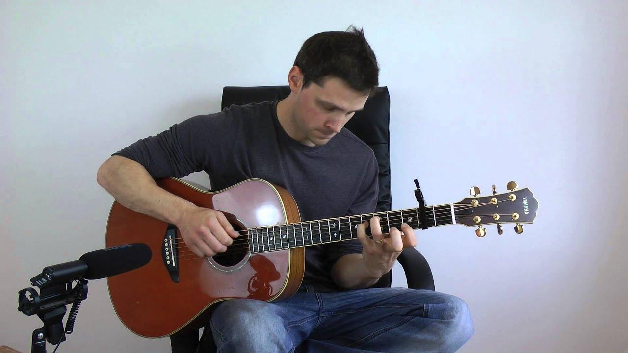 daft-punk-get-lucky-fingerstyle-guitar-acoustic-interpretation-gareth-evans