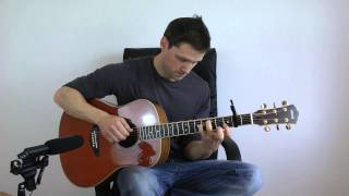 Daft Punk - Get Lucky - Fingerstyle Guitar / Acoustic Interpretation