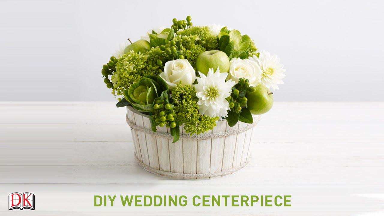 Flower Arrangement Tutorial: DIY Wedding Centerpiece