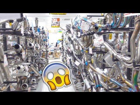 MOTORBIKE PARTS HEAVEN IN JAPAN!