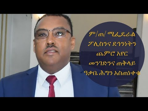 Ethiopia: ም/ጠ/ሚ ፌዴራል ፖሊስንና ደኅንነትን ጨምሮ አየር መንገድንና ጠቅላይ ዓቃቤ ሕግን አስጠነቀቁ thumbnail
