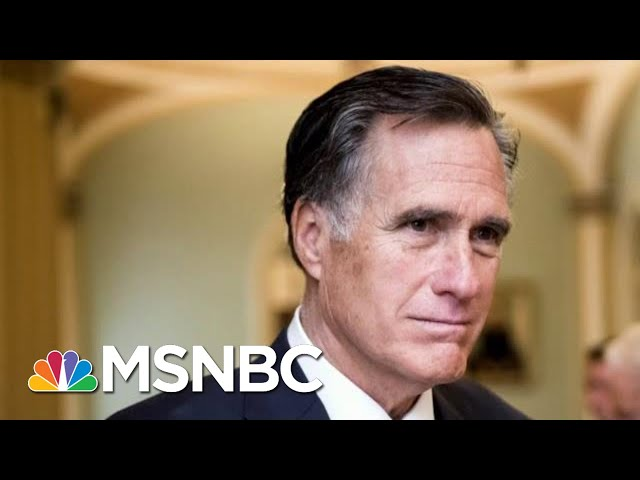 Isaacson: Mitt Romney Is Everything President Donald Trump Is Not | Morning Joe | MSNBC