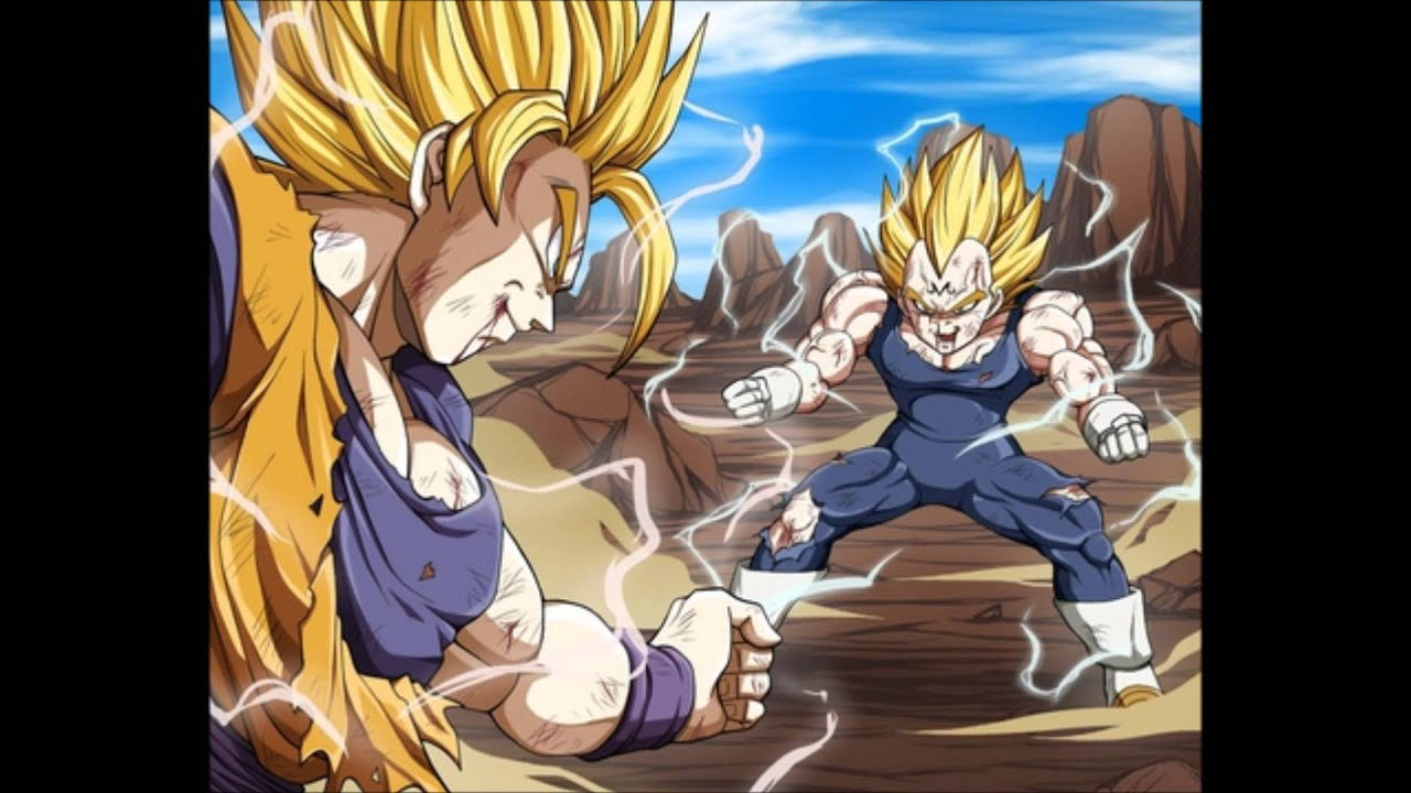 Goku vs vegeta music majin buu saga youtube - Dragon ball z majin vegeta wallpaper ...