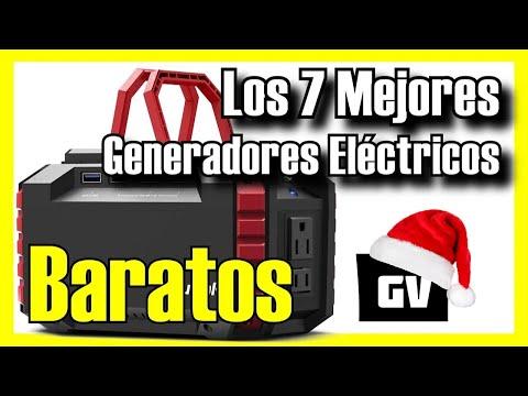⚡ Los 7 MEJORES Generadores Eléctricos BARATOS de Amazon [2021]✅[Calidad/Precio] Solar / Silencioso