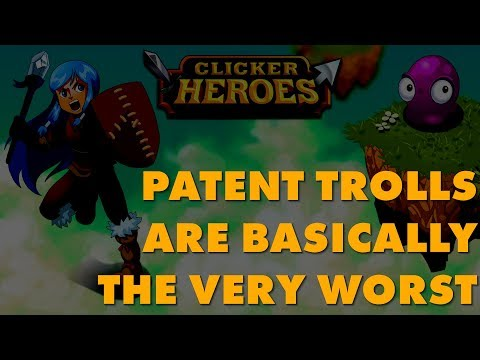 Patent Trolls Attempting To Shake Down Clicker Heroes Dev