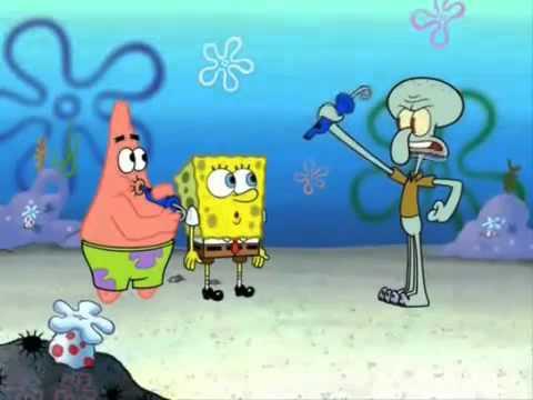 Spongebob sings Whistle