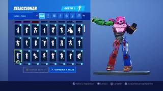 Skin Team Leader Mecha Dancing 132 Fortnite Gestures
