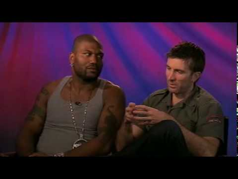 Rampage Jackson and Sharlto Copley on Mr. T and Murdock