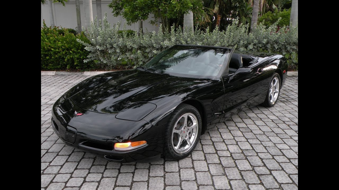 Chevy Fort Myers >> 2002 Chevrolet Corvette Convertible For Sale Auto Haus of Fort Myers Florida - YouTube