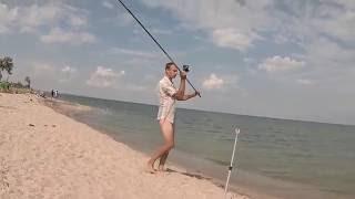 Ловля кефали (черноморки) пеленгаса с берега на море, снасти, наживка.