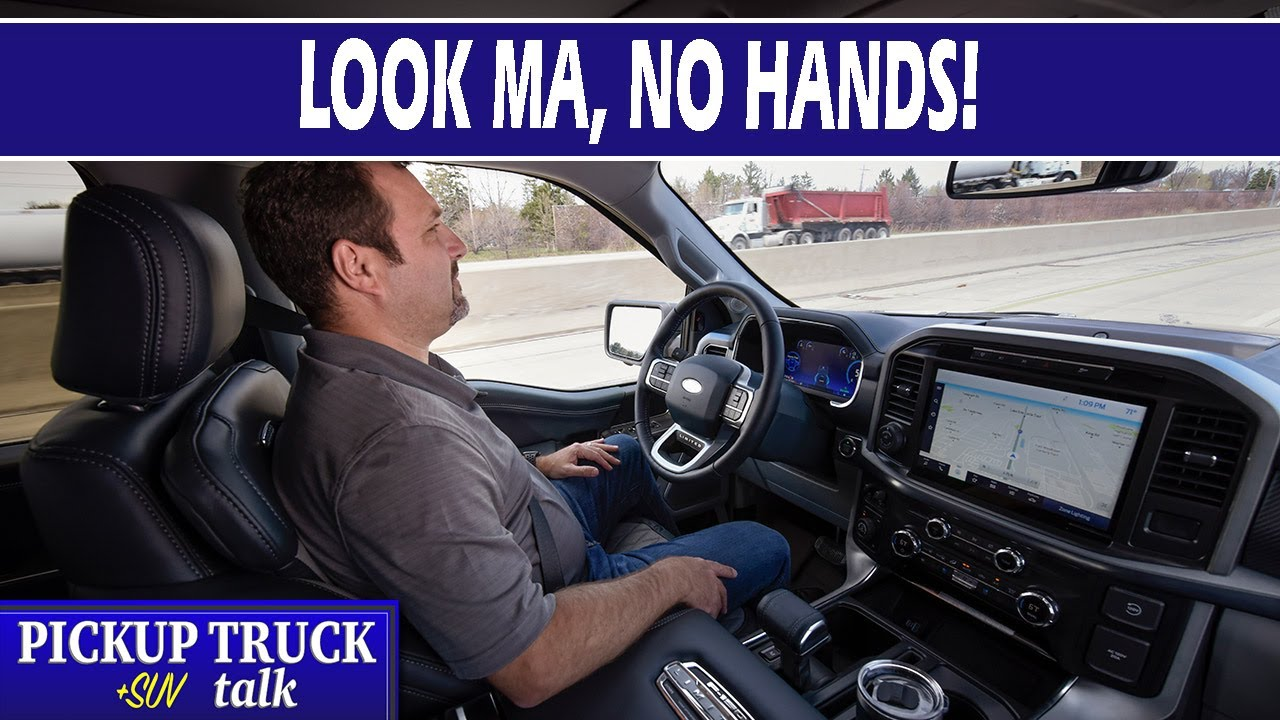 BlueCruise - Ford F-150 Hands Free Driving Explained + Mustang Mach E!