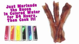 Colored Bacon - Taste a BACON Rainbow!