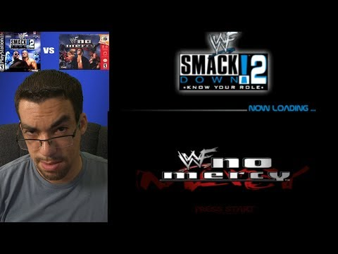 Smackdown Know Your Role vs WWF No Mercy- Let's Play & Live Review.
