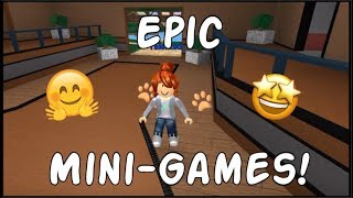 Giocare a epici minigiochi in Roblox LuckyAJ