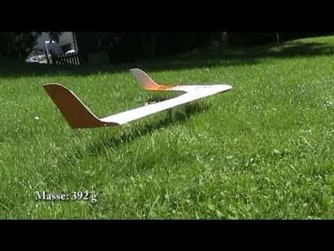 Erstflug Nurflügel 2 Eigenbau