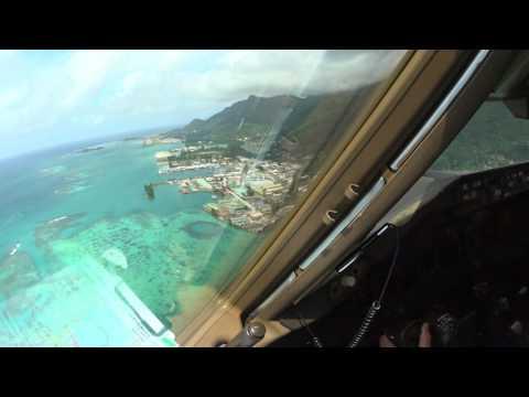 B777 RNAV-AR 13 Approach Seychelles