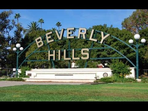 Beverly Hills park California USA