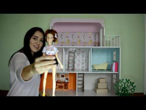 Обзор большого кукольного дома от LeryKids DOLLHOUSE