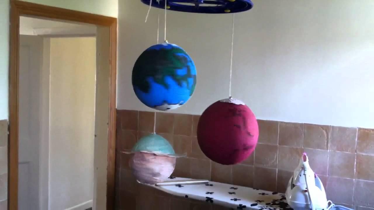 Homemade solar system - YouTube