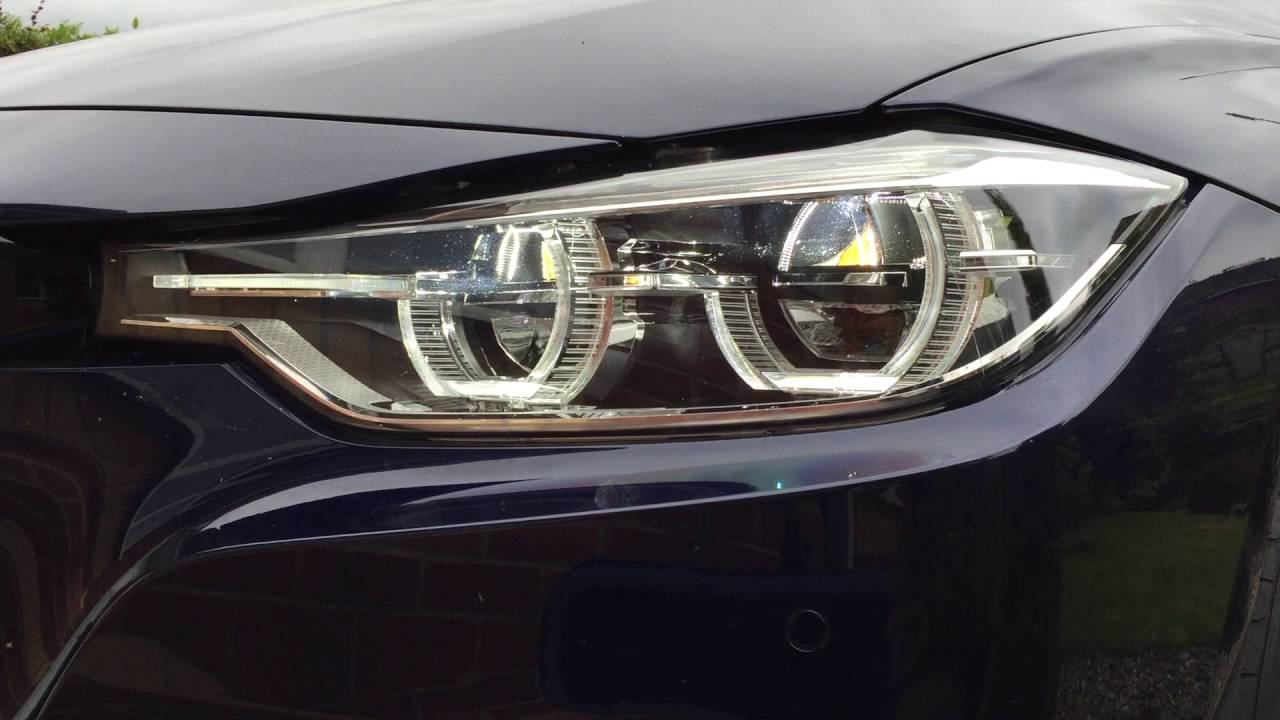 Bmw F30 31 Lci Adaptive Led Headlights 2016 Doovi