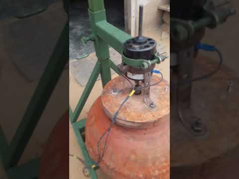 Curd churning machine - YouTube