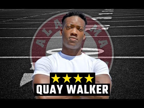 4-star linebacker Quay Walker 'still smiling' about Alabama commitment