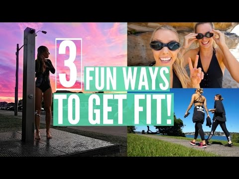 3 FUN WAYS TO GET FIT | My Active Lifestyle | Outdoor Workouts