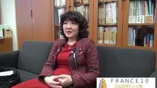 2014年03月24日にFrance10は参院議員会館事務所にて片山さつき参院議員...
