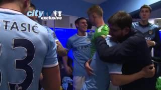 Манчестер Сити празднование Чемпионства