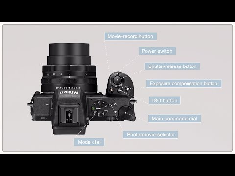 Nikon Z 50 Tutorial: Learn about the Z 50 - Functions
