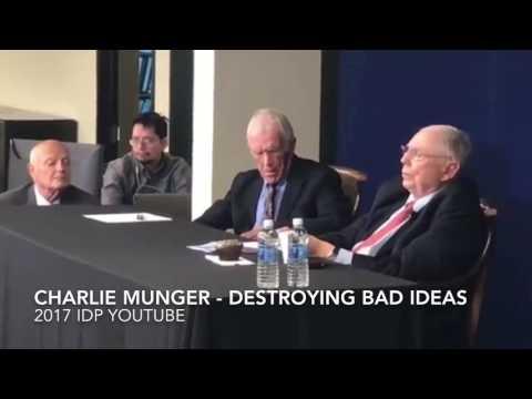 Charlie Munger Interview 2017 - Destroying Bad Ideas