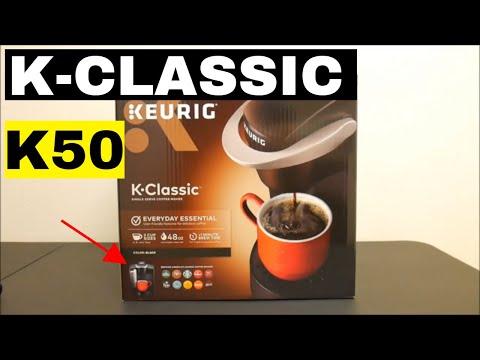 Keurig Coffee Maker - K Classic K50 - UNBOXING!