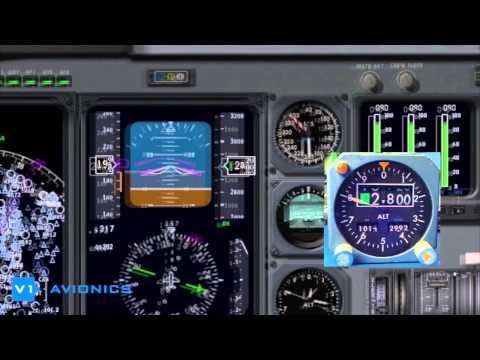 DC-10 Altimeter ARINC 429 575 Short Demo