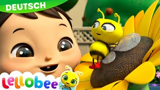 Herr Sonne, Frau Regen | Lellobee - Kinderlieder und Cartoons | Lellobee Deutsch