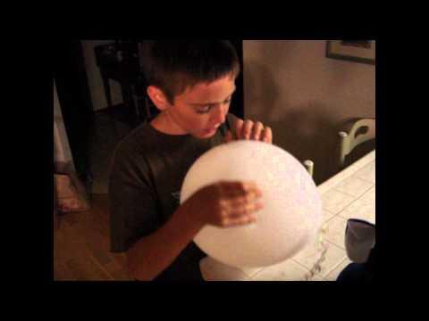 Lane's balloon goes BoOm!!!