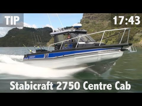 Matt's new Stabicraft 2750 Centre Cabin - ULTIMATE FISHING TV